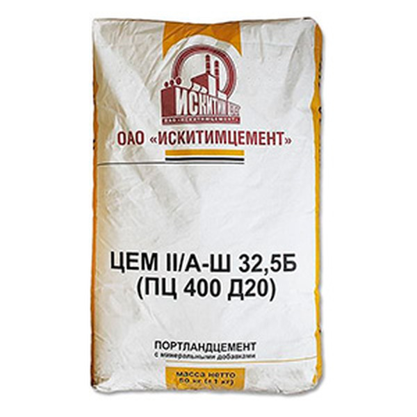 Цемент Искитим ПЦ-400 50кг
