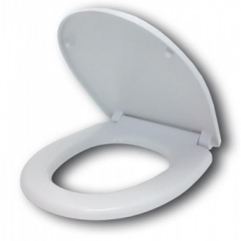 Сиденье для унитаза полипропилен (Славута Лобня) 80.07.80