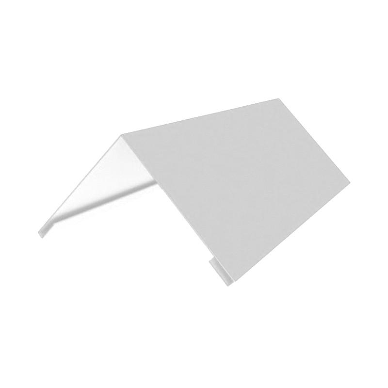 Накладка коньковая 140*140 2м (9003) (Белый)