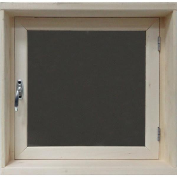 Окно для бани 40*40*100 СМ2 стекло матовое бронза