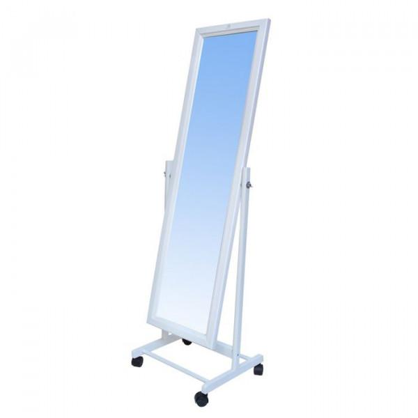 Зеркало напольное 118*34 белое
