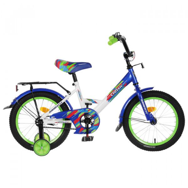 Велосипед 16 Graffiti Classic белый/синий