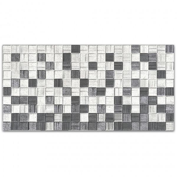 Кафель Мегаполис 250*500*8 серая мозайка Люкс/10