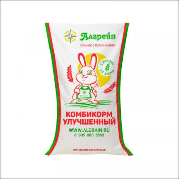 """Комбикорм для кроликов (""""Алгрейн) 35 кг УЛУЧШЕННАЯ"""