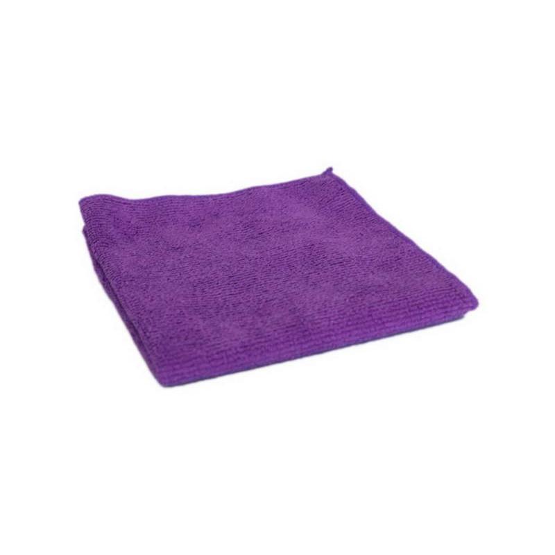 Тряпка для пола 40*50 микрофибра, фиолетовая  Рыжий кот