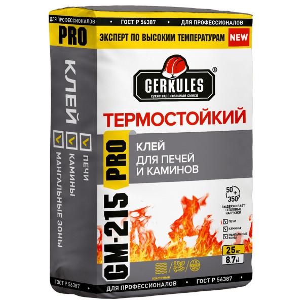 Клей для плитки Геркулес термост.25 кг GM-215 /48, 56/