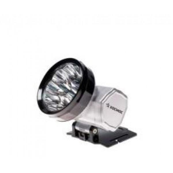 Фонарь налобный H10 LED акк. серебро/пластик Космос 3*R6