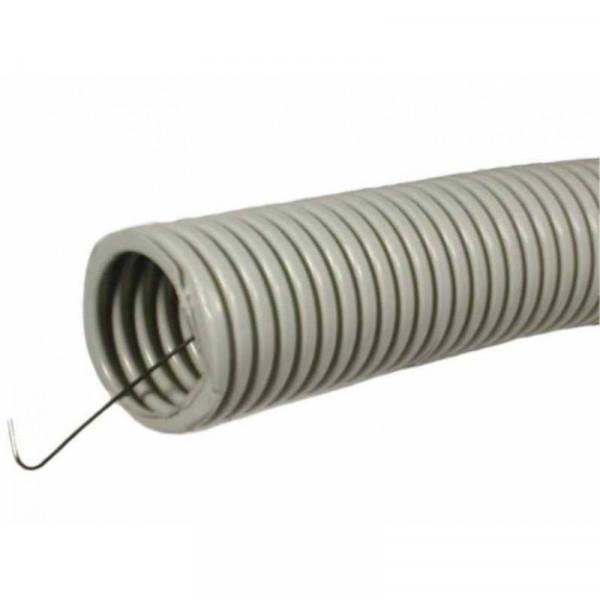 Труба ПВХ гофро с зондом D16(100м)