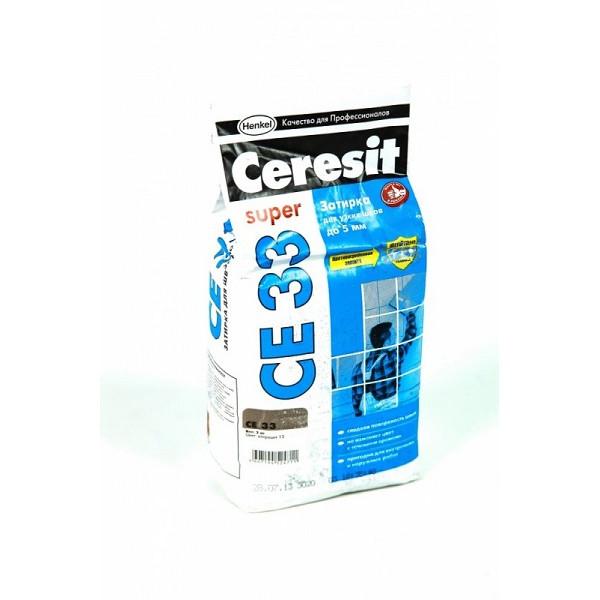 Затирка Ceresit 2кг антрацит
