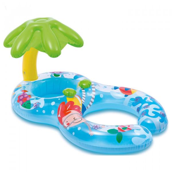 Круг для плавания с сиденьем 117*75см Пальма