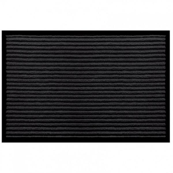 Коврик придверный 50*80см Степ черный