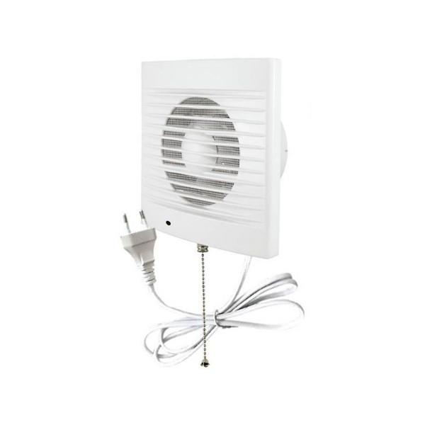 Вентилятор бытовой 100 СВп с выкл. и проводом 1,3м ТДМ