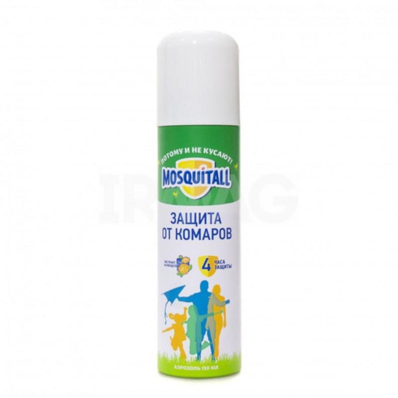 Аэрозольд/взрослых от комаров Mosquitall 150мл