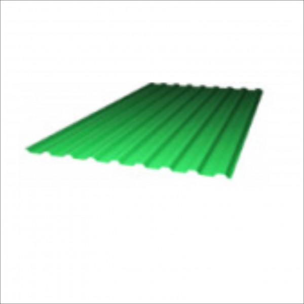 Профнастил из поликарбоната 2000*1150 Зеленый
