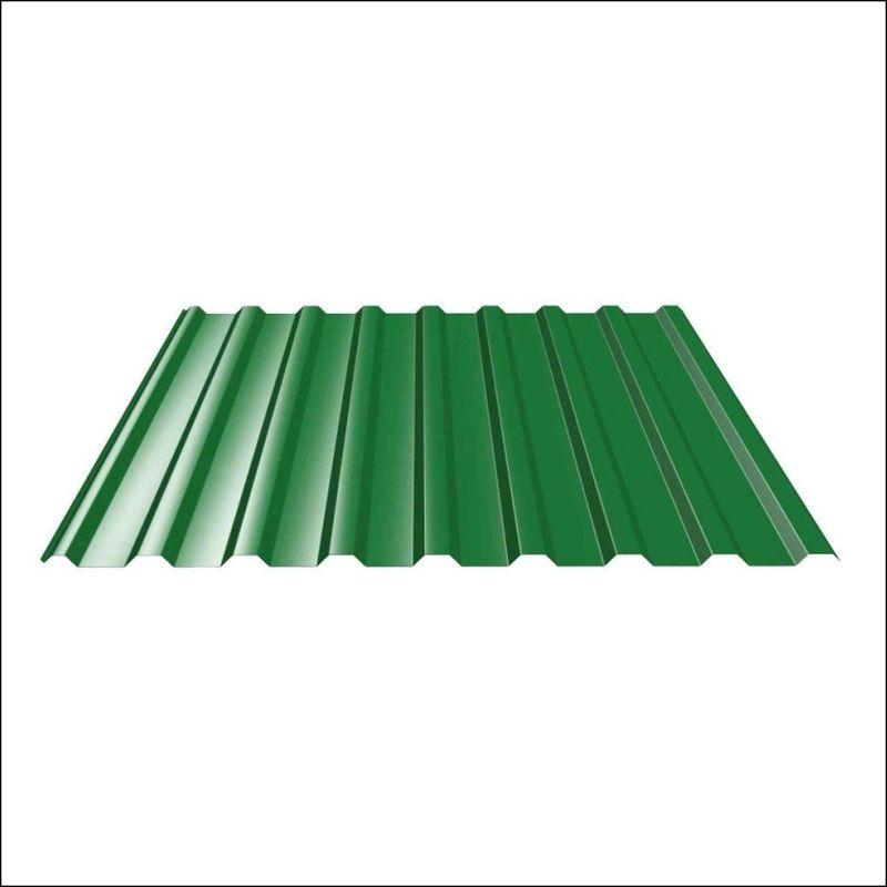 Профлист МП-20 (ОН) 6*1,15  6,9 м/2 Зеленый листва 6002 ЭКОНОМ