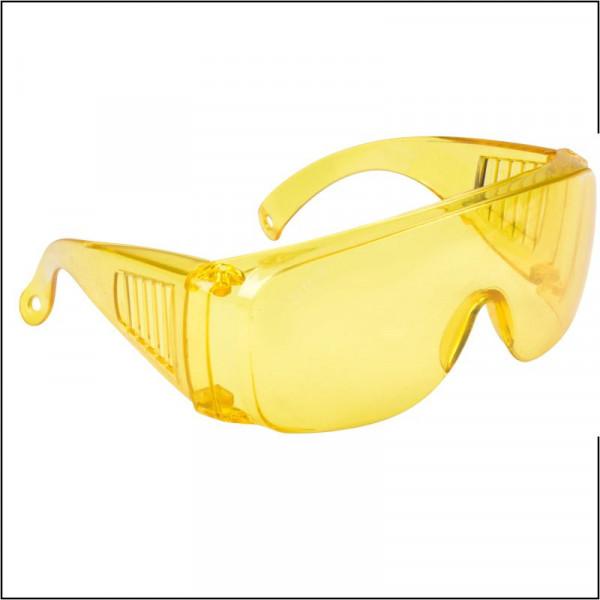 Очки защитные желтые с дужками ФИТ 12232