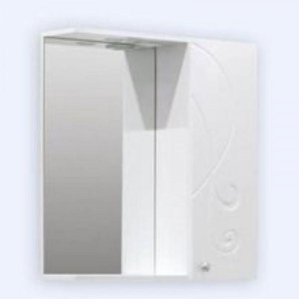 Зеркало-шкаф Галисия 50см со светильником