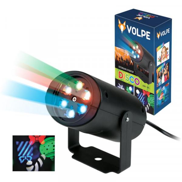 Проектор лазерный Volpe ULI-Q306-02 Новогод. узоры