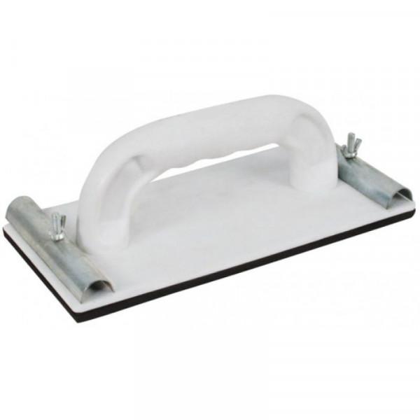Терка для нажд.бумаги пластик. с мет.прижимом 230*105мм