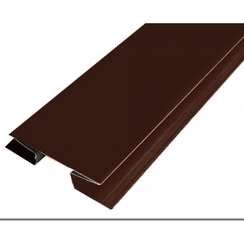 Н-профиль 8017 (шоколад)