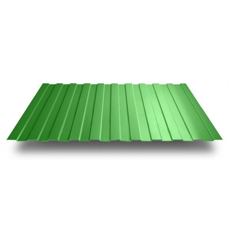 Профлист МП-20 (ОН) 6*1,15  6,9 м/2 Зеленый листва 6002