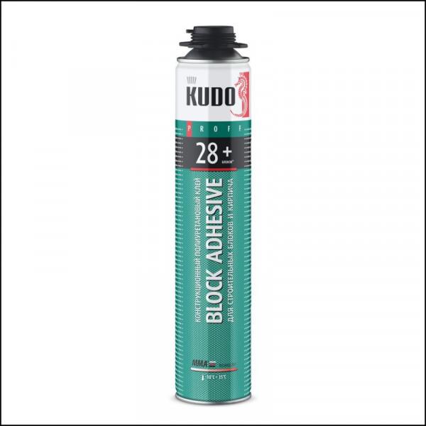 Клей конструкционный полиуритановый профессиональный KUDO PROFF 28+ 900гр.