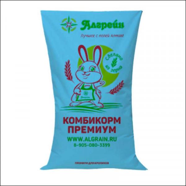 """Комбикорм для кроликов ПРЕМИУМ (""""Алгрейн) 35 кг"""
