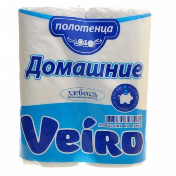 Полотенце бумажное Linia Veiro 2-х сл. 2шт.