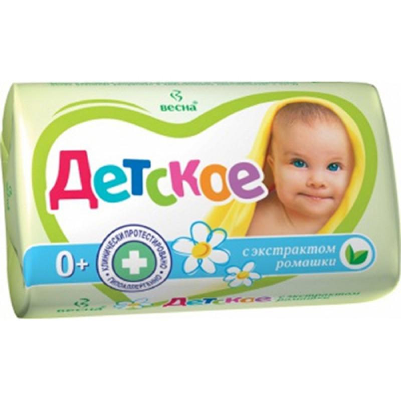 Мыло ДЕТСКОЕ 90г С экстрактом ромашки